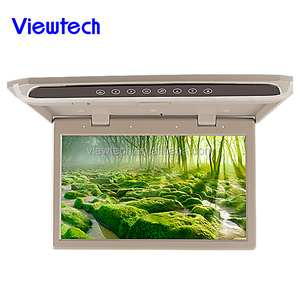 15.6inch roof mount flip down monitor with hdmi for bus