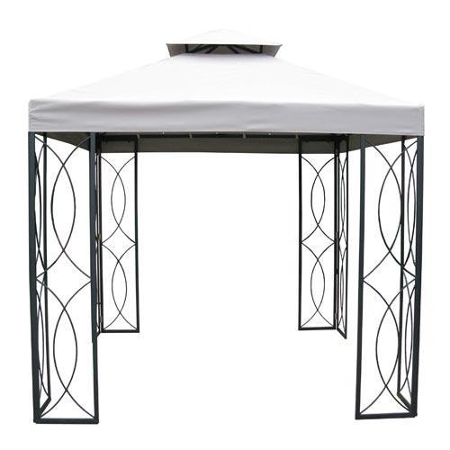 Get Quotations · Garden Winds Replacement Canopy For The Loweu0027s Treasures  Gazebo RipLock 350