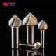"WeiTol chamfering milling cutter ""v"" type milling cutter v shape milling cutter Professional V Grooving Router Bit"