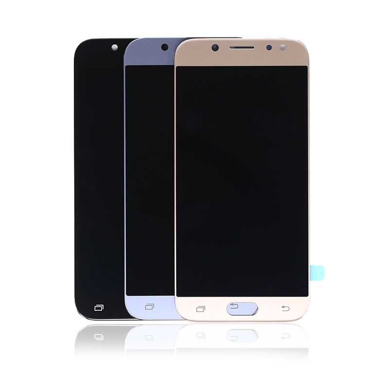OLED para Galaxy J530 2017 para Samsung J5 2017 J5 Pro J530 J530F Tela de LCD Screen Display Toque Digitador Assembléia