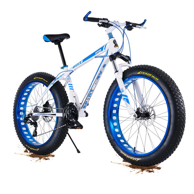 Doğrudan Fabrika dağ bisikleti yağ lastik kar bisiklet, Toptan 20/26 inç kar bisiklet ile 4.0 kalın tekerlekli bisiklet