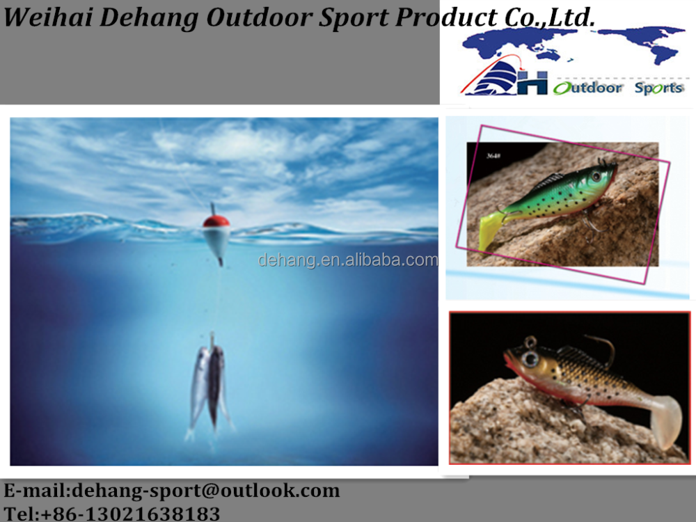 Fishing Lure Soft Lure With Paddle Tail with sophisticated technology