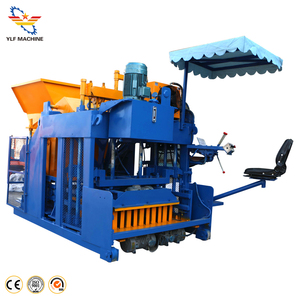 movable building hydraulic walking hollow brick block machine