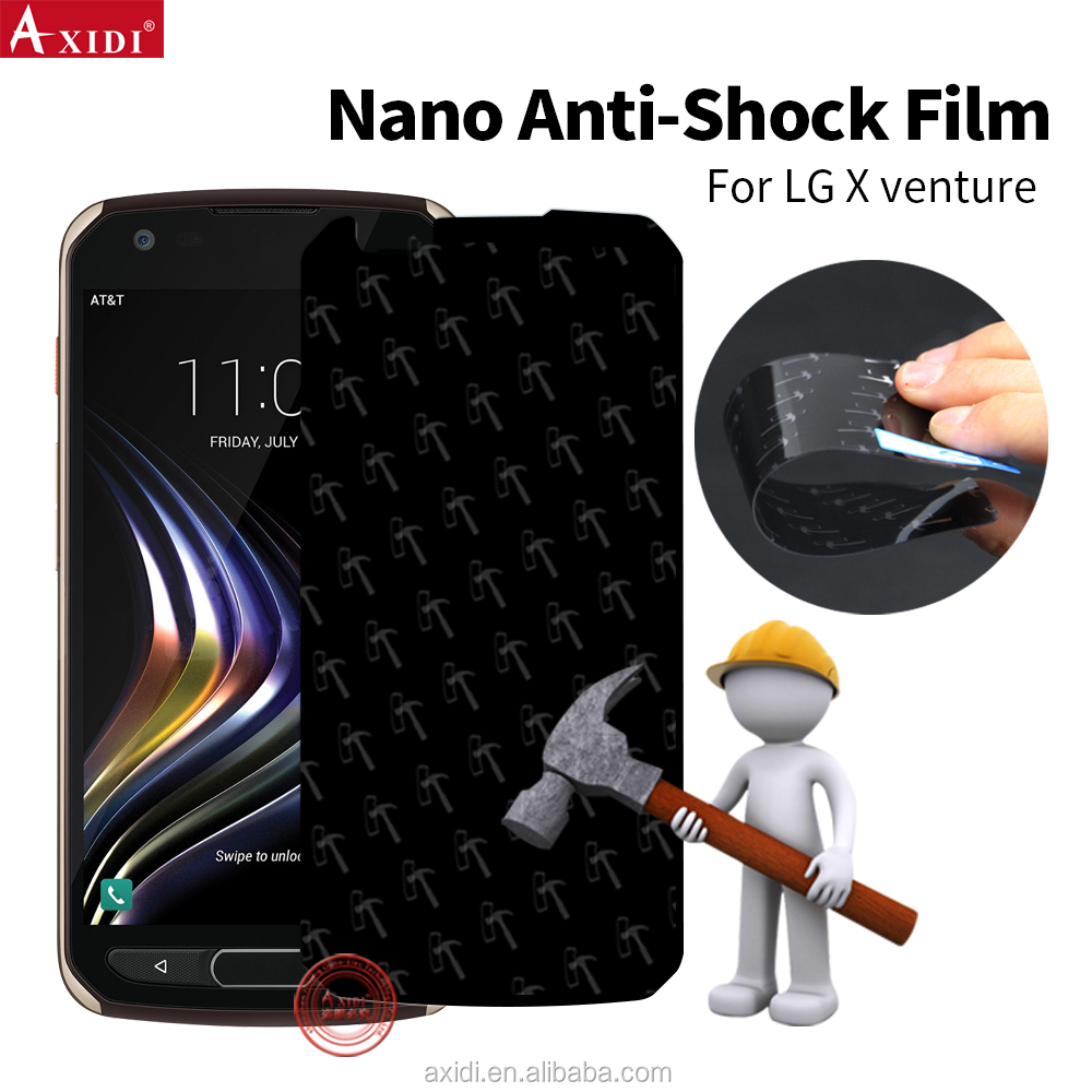Amazon Top Selling Hammer Nano Coating Anti Shock Film for LG X Venture Screen Protector