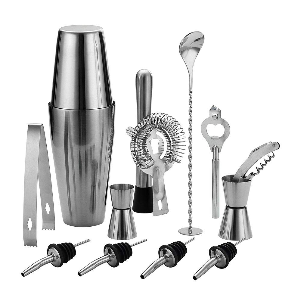 Martini Kit with Measurin... 24 Ounce Cocktail Shaker Bar Set with Accessories