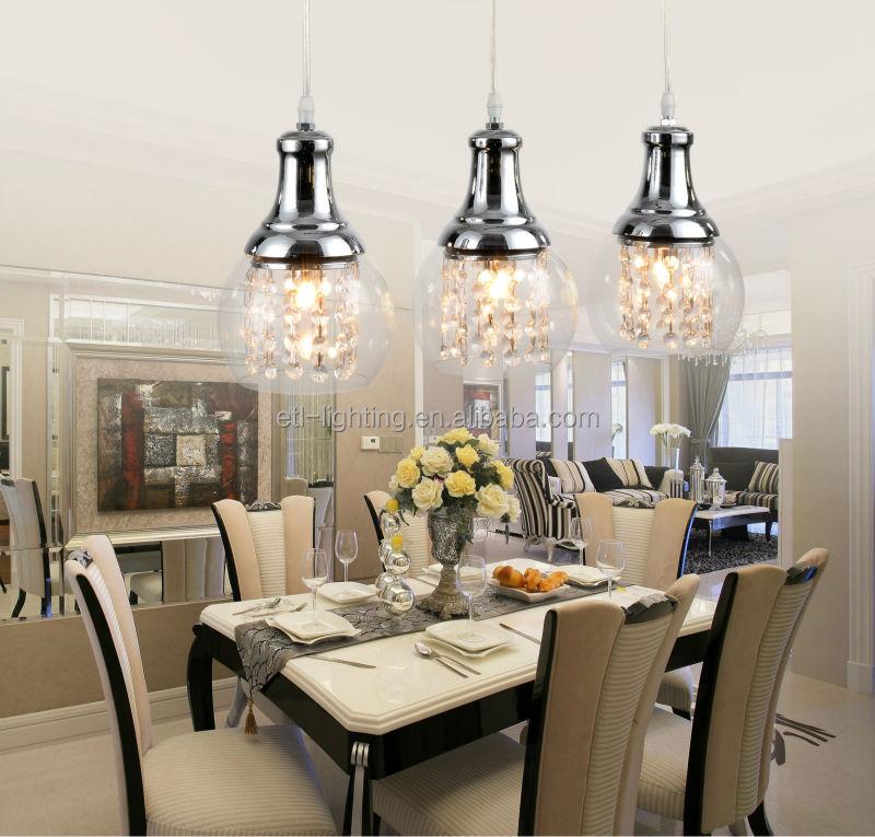 2015 francia moderna sala da pranzo lampadari di cristallo for Lampadari sala