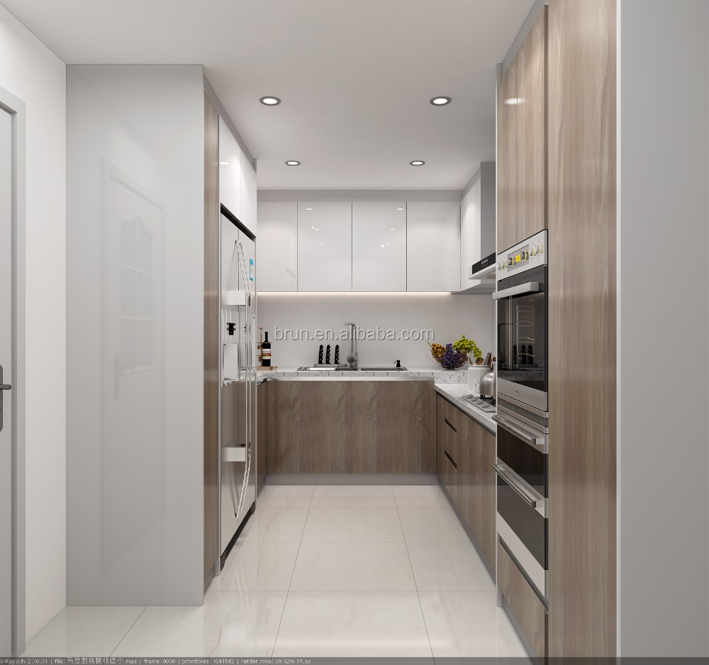 Solid Wood Frosted Gl Kitchen Cabinet Doors Designs From ... on