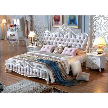 French Elegant Home King Queen Size Bedroom Sets Furniture Buy
