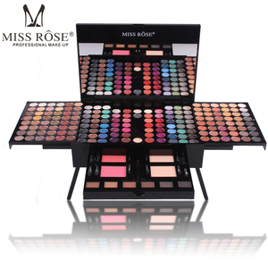 MISS ROSE Color Spirit Makeup Collection Professional Makeup Kit With 180 Color Eye Shadows