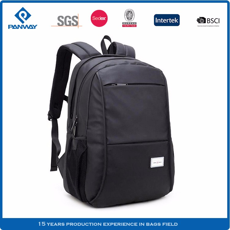 China Laptop Polyester Shoulder Strap Back Bag For Man