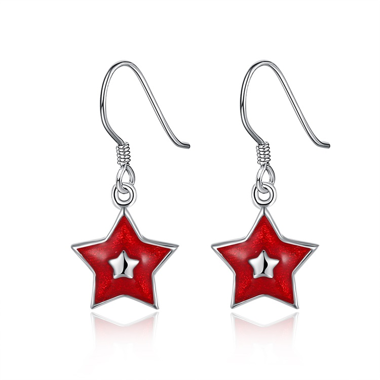 93c0fece673c9 China red star earring wholesale 🇨🇳 - Alibaba