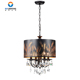 Modern metal crystal chandelier pendant lamp