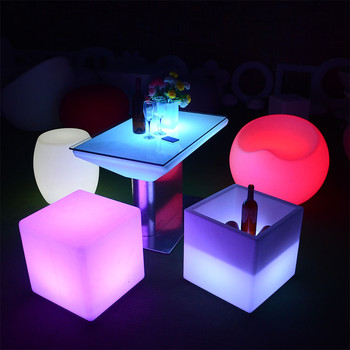 party chairs and tables luxury commercial coffee shop outdoor led furniture set sectional sofas chair table with lighting