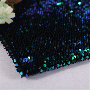 2019 new material 5MM fish scale Sequin fabric, velvet fabric bottom Sequin embroidery