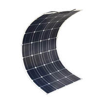 100W 18V Semi Flexible Monocrystalline Silicon Solar Cells Solar Panel For Caravan Boat Marine Yachts With Overseas Warehouse