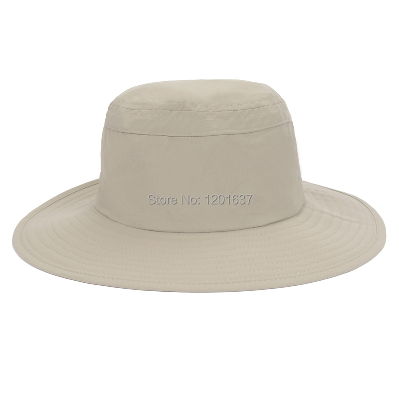 Get Quotations · 2015 NEW Casual Bucket Hat Outdoor Camping Hiking Sun Cap  Round Rim Men Women Quick- ba1ec3b73bf4