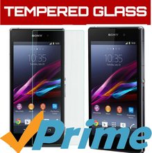 Screen Protector Tempered Glass sFor Sony Xperia Z1 L39H C6903 Glass Film De Protection Ecran En Verre Trempe For Sony Xperia Z1