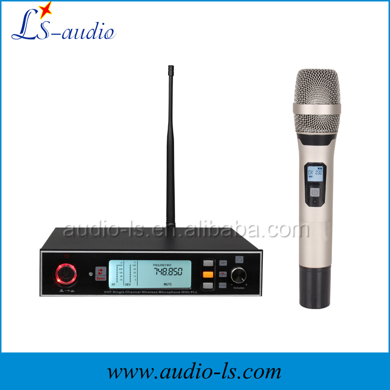 China provide sennheise wireless microphone for karaoke