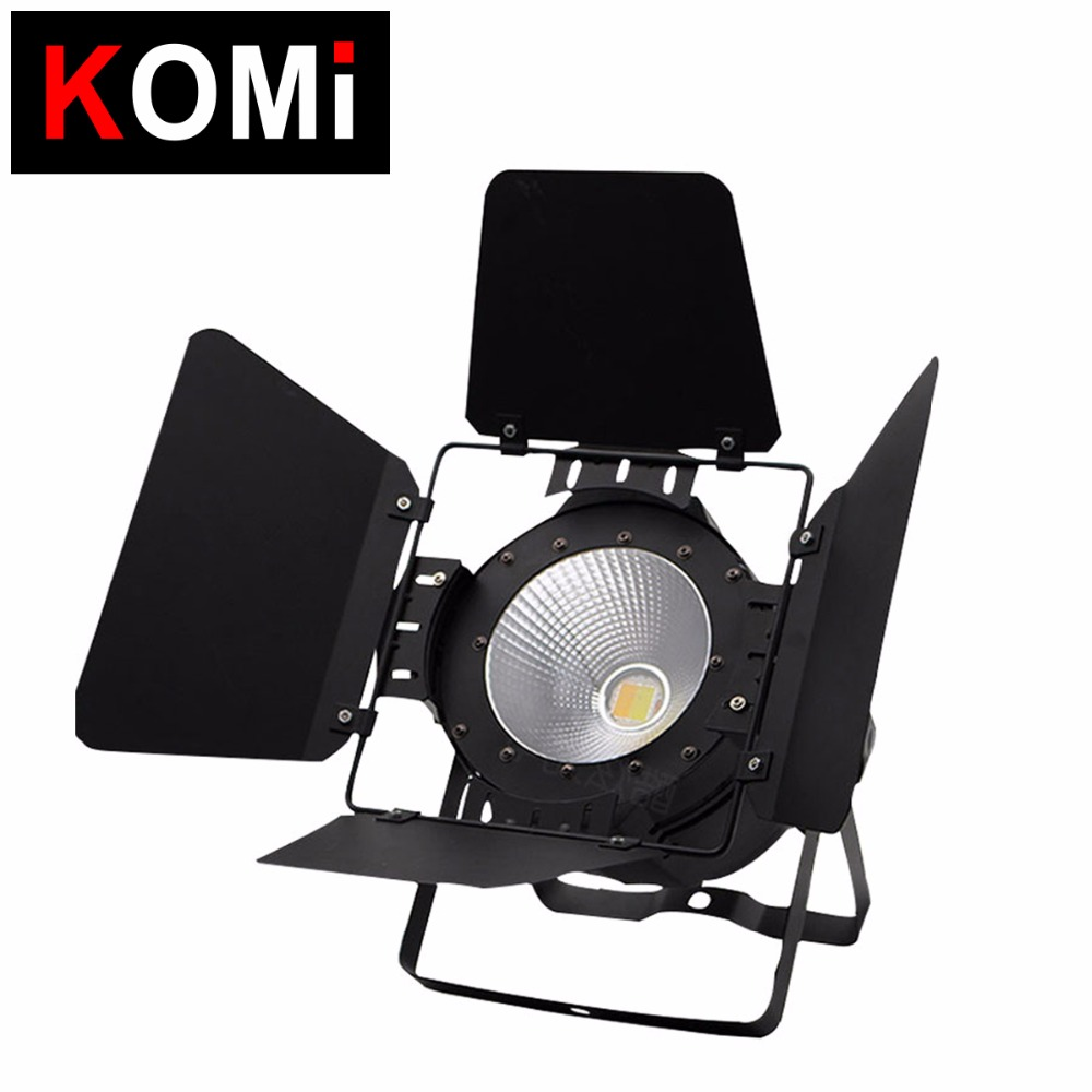 Professional super bright 100w cob led par can light cool white & warm white dmx theater projector lights led studio spot light