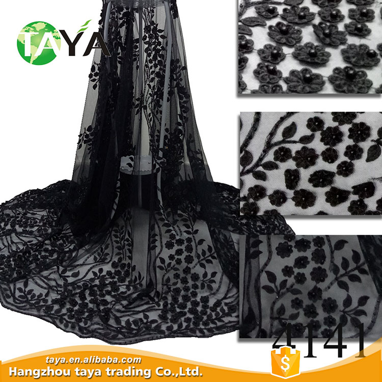 2017 Guangzhou china women clothing manufacturer african lace fabric