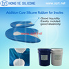 Hong Ye Transparent Silicone Rubber for Foot Care Products