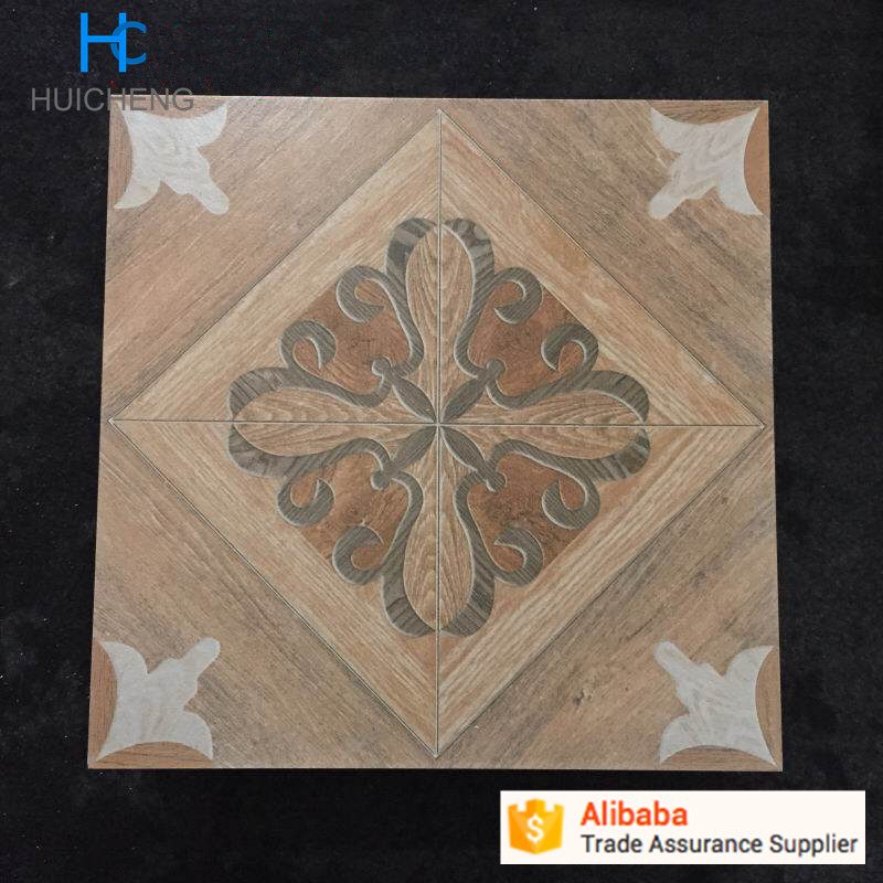 Decorative Ceramic 300 x 300 floor tile for Toilet