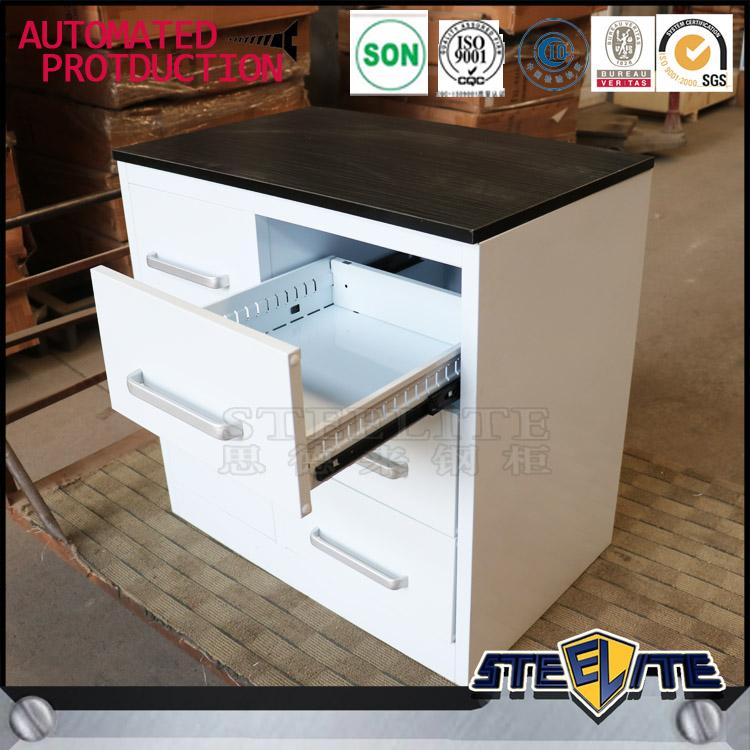 Nuovo modello cebu filippine mobili armadio da cucina con metallo ...