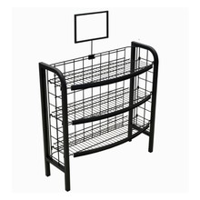 3 <span class=keywords><strong>scaffale</strong></span> di metallo filo rack per biscotti, caramelle,, chip, spuntino