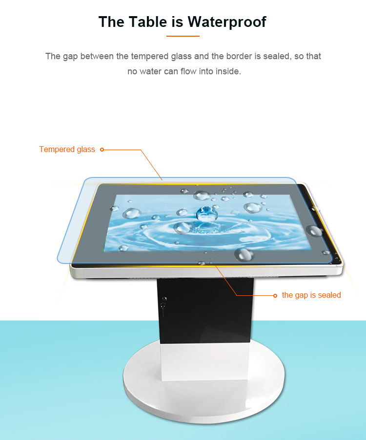 """42"""" Android Lcd Media Touchscreen Smart Interactive Table ..."""