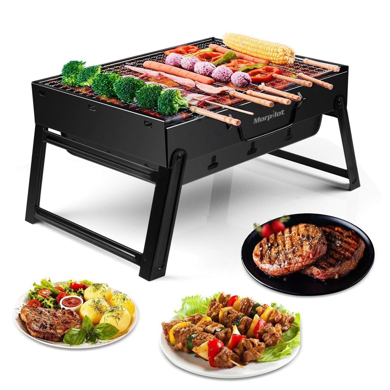 Sittikatechai Mini BBQ Barbecue Charcoal Grill Folding Portable Outdoor Travel Camping Garden