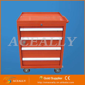Rolling Metal Tool Box Side Cabinet Chest Large Tool Box Cabinet