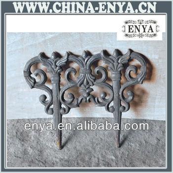 Cast Iron Fence, Ornamental Fencing U0026 Edging, Garden Edging Fence