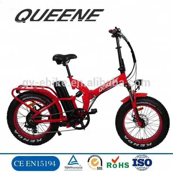 "1000W 48V 20"" High Quality Foldable/Folding Fat Tire Ebike, Fat Electric Bicycle, Fat Electric Bike"