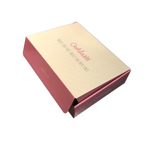 Full colors custom printed apparel boxes packaging with brand