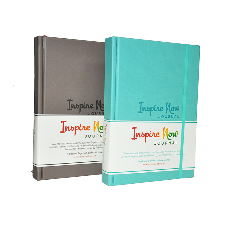 Stampa personalizzata a5 hardcover libro planner journal notebook