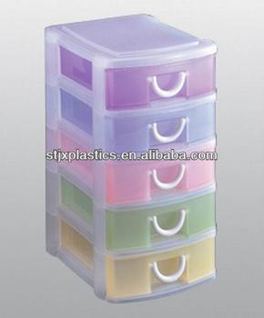 5-tier Storage Cabinet Drawer Plastic Drawer Storage - Buy 5-tier ...