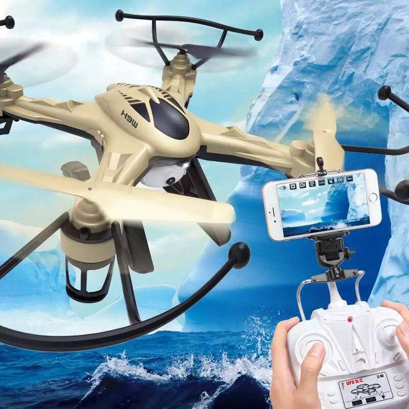 New Arrival JJRC H9W WiFi FPV Real-time Video Headless Mode RC
