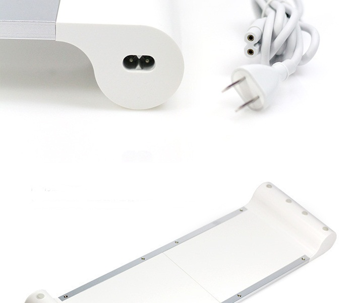 Aluminium US UK EU Plug 4 USB Oplader Notebook Laptop Computer PC Standhouder