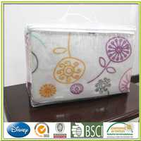 Polar fleece bedding packaging bed products incontinence bed sheet