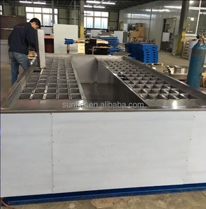 Block ice and cube machine shave ice block mould