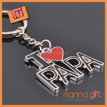 Hot sale metal alphabet key chain, letter keychain, letter shape keychain