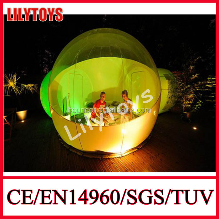 Lilytoys Used Inflatable Human Sized Bubble Tent for Sale