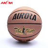 Hot sales leather basketball Size 7 custom printed logo ball