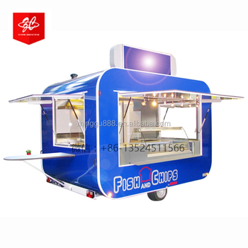 Global Best-selling individualized Multifunctional Street Snack Trailer/very popularMobile Food Cart/ Fast Food Kiosk