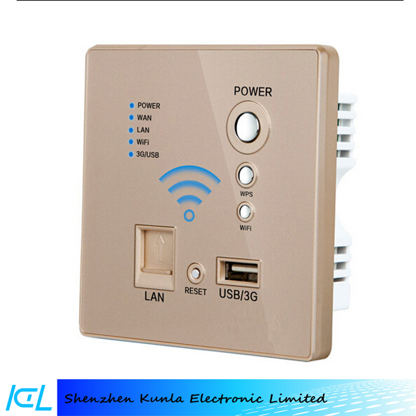 Hot new products Smart Wall Wifi Power Socket, New developed wall type wireless router USB wifi wall socket