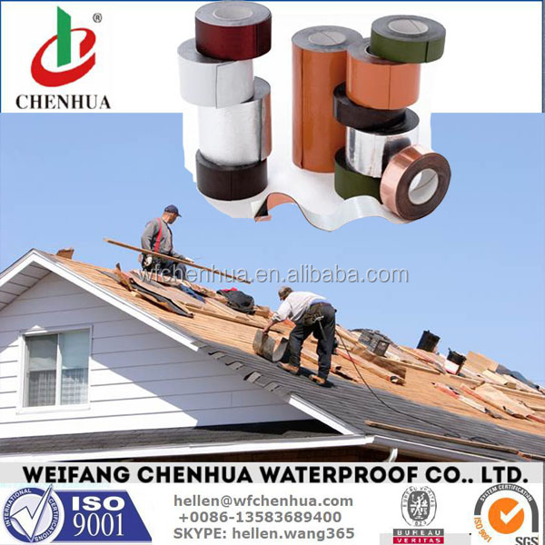 Self-adhesive bitumen cold seal tape for waterproofing -- Buy direct from China factory