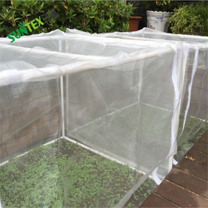 Clear hdpe plastic insect fruit tree proof mesh netting, 100gsm white agricultural anti insect net in malaysia 3*100m