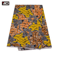 ACI Mode Kleid <span class=keywords><strong>Ankara</strong></span> <span class=keywords><strong>Stoff</strong></span> 6 Yards Baumwolle Material Batik Dutch Wachs <span class=keywords><strong>Stoff</strong></span> Für Party