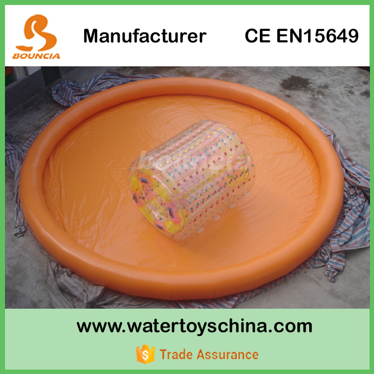 PVC Tarpaulin Activity Inflatable Water Pool For Water Roller