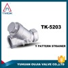 TMOK supplier ,Impurities filtration, water and oil media female thread 304 stainless steel Y-strainer